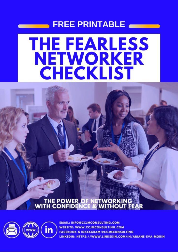 Fearless networker